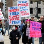 Anti-Choice Signs, Assault Rifles Suggest Michigan Rally Wasn't About Quarantine 17
