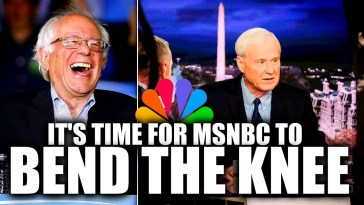 "MSNBC Plans to ""Pivot"" After Facing Backlash for Anti-Bernie Hysteria 13"