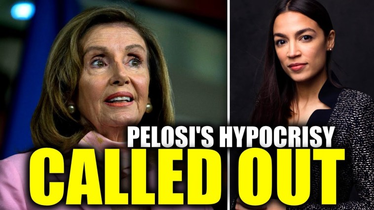 Pelosi Stunned When Confronted with AOC's Criticism of Her and the DCCC 2