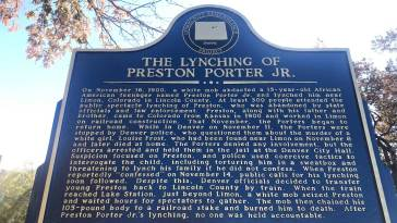 Historical Marker in Denver Memorializes Racial Terror Lynching of 15-Year-Old Boy 14