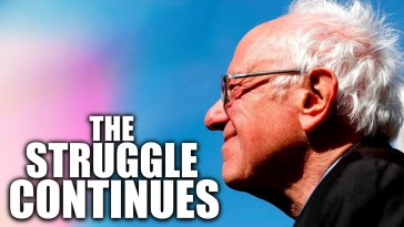 MUST-SEE: Bernie Sanders Sends Heartfelt Message to Demoralized Base 10