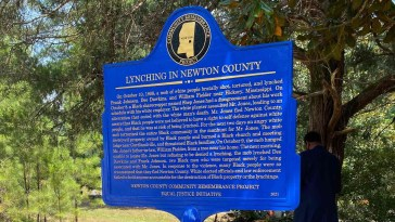 Descendants of Lynching Victims Dedicate Historical Marker in Hickory, Mississippi 11