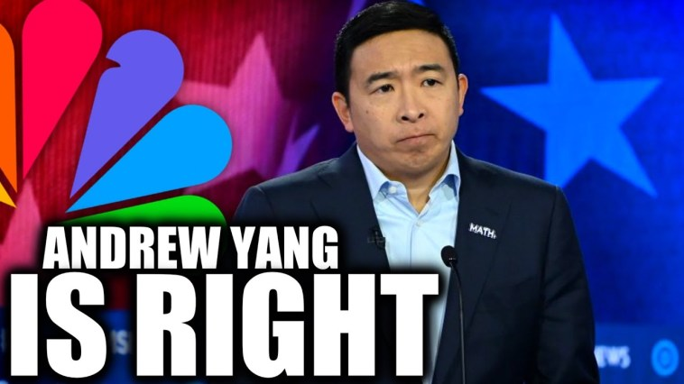 Andrew Yang Goes to War with MSNBC, Demands Apology 3
