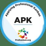 Applying Professional Kanban Logo