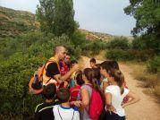 Rafa Torralba (ACTIO Birding) excursión con niños en Alcaraz