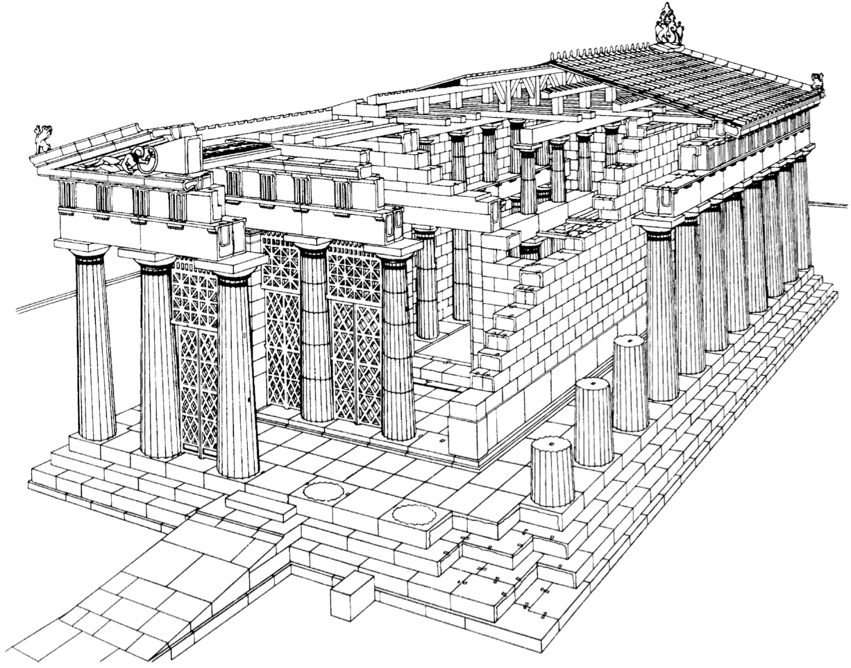 greek stage diagram easy origami flower action constructing architectural features in ancient