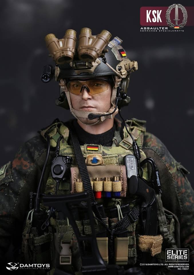 Damtoys Ksk Kommando Spezialkr 228 Fte Assaulter