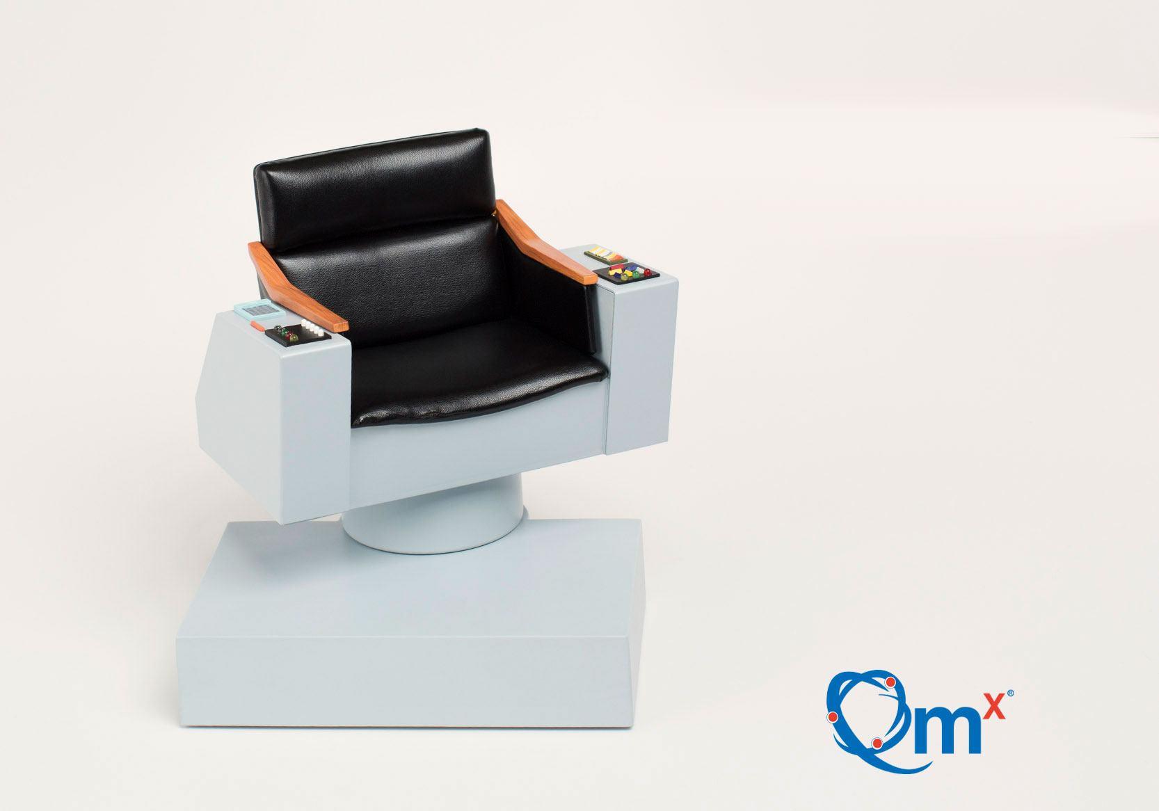 star trek captains chair ergonomic office with lumbar support quantum mechanix