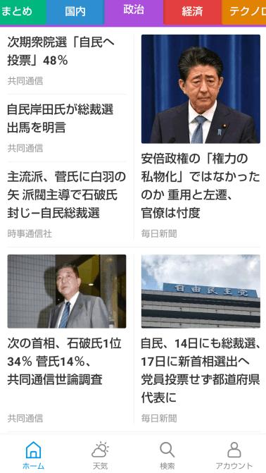 カテゴリー 日本政治