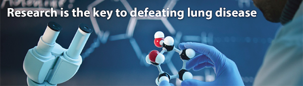 Research is the key to defeating lung disease