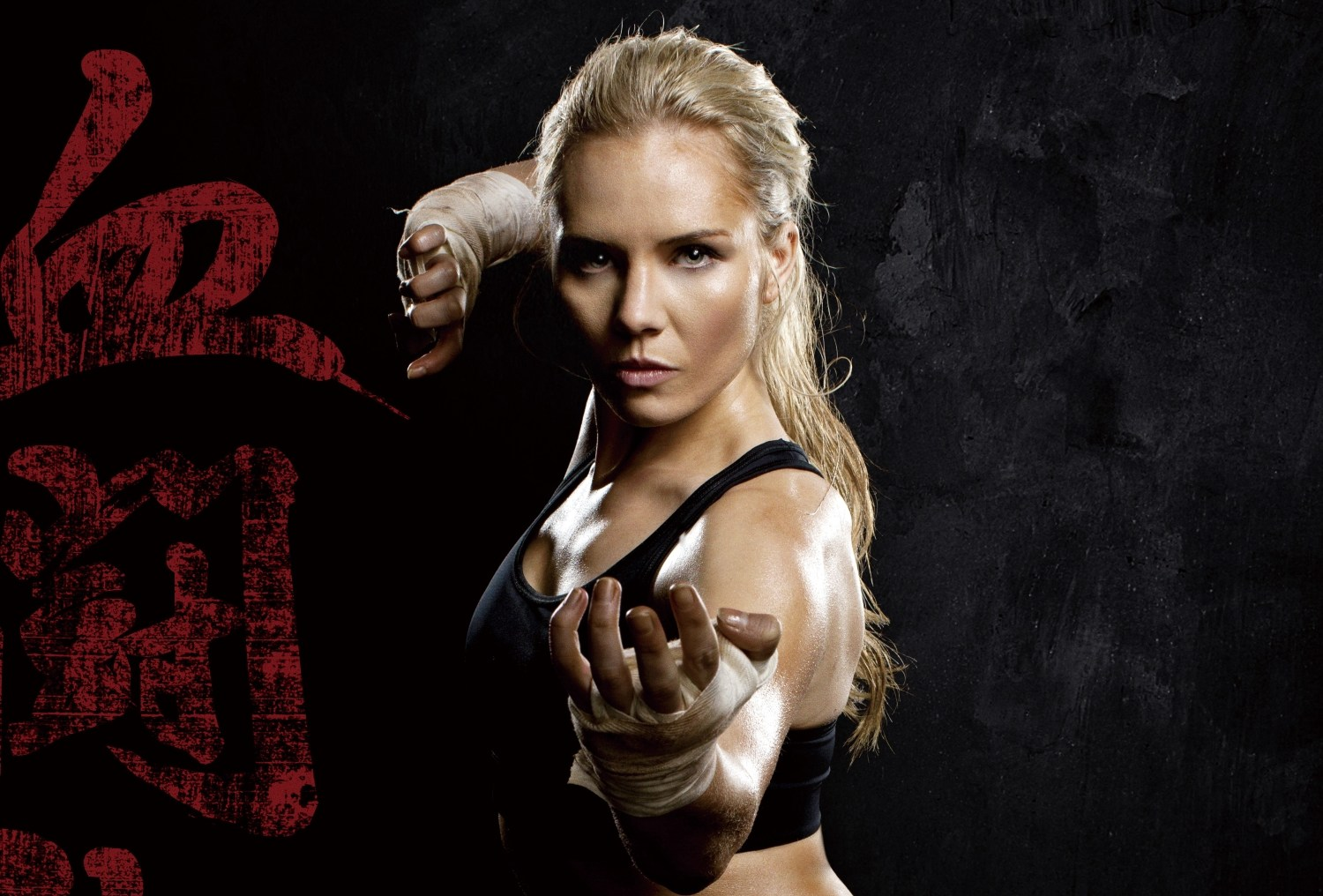 Girl Madness Wallpaper New Lady Bloodfight Trailer Kill Them All Action A