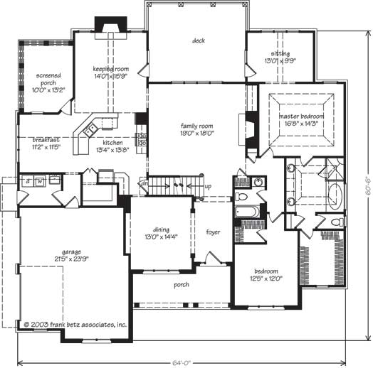 Southern Living Floor Plans Main Level Floor Plan Southern Living