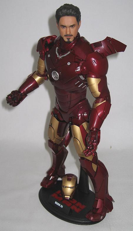Sideshow Toys Marvel Action Figure Iron Man Mark III