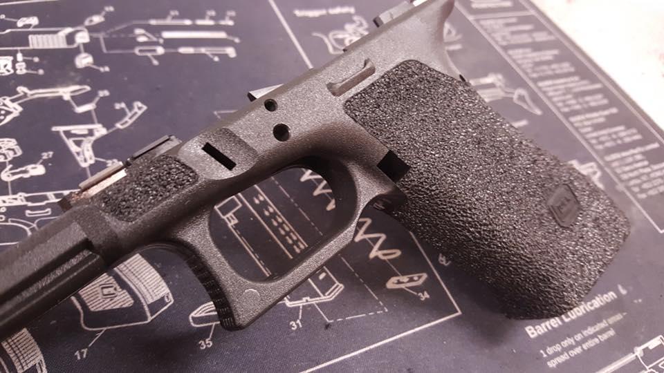 firearm stippling