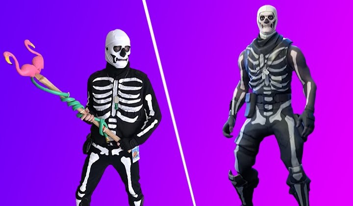 Skull Trooper In Real Life
