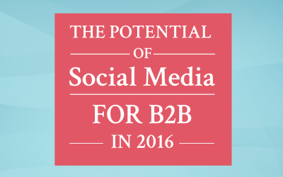 The Potential of Social Media for B2B in 2016 – [INFOGRAPHIC]