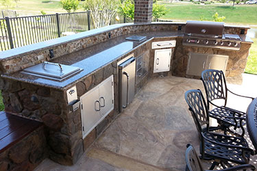 outdoor kitchens lights for over kitchen table custom backyards or patios in madison wi with bar and grill wisconsin