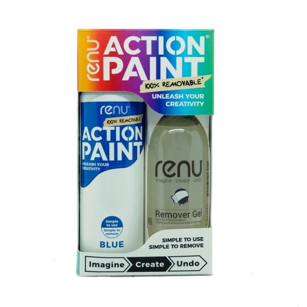 Action Paint Set - Blue