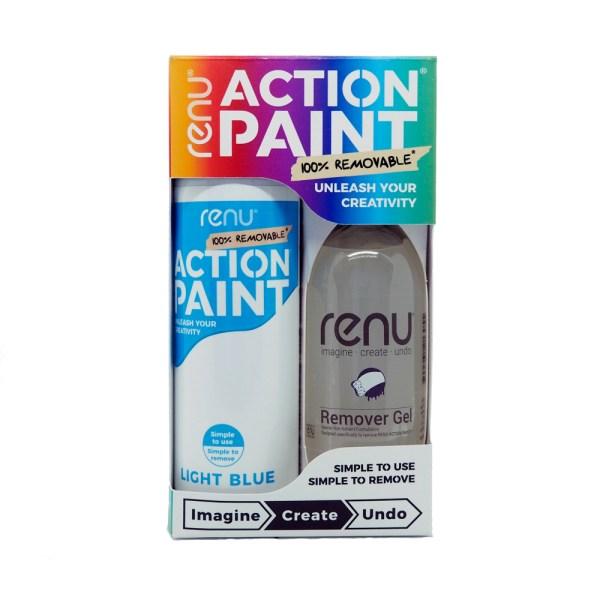 Action Paint Set - Light Blue