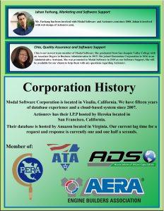 Actionrev Brochure Corporation History