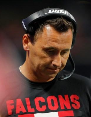 Steve Sarkisian Atlanta Falcons OC