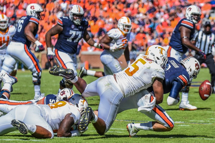 Auburn takes on Tennessee in SEC Football