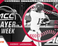 Alex Binelas Acc Baseball Player of the Week