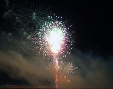 Fireworks at Atlanta Motor Speedway