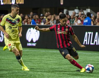 Atlanta United's Pity Martinez faces Club America for Campeones Cup