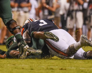 Auburn Tigers sacked Tulane #WarEagle, #AUNextLevel, #auburn, #auburntigers, #secfootball26-4 to start the season