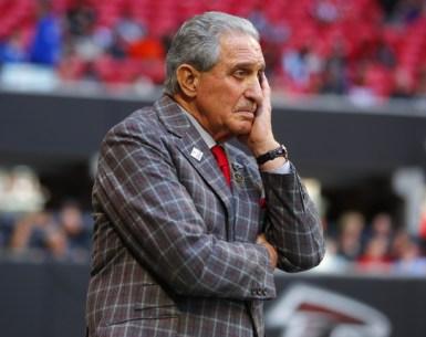 Arthur Blank at Falcons home game pondering something #NFL, #dirtybirds, #falcons, #inbrotherhood, #atlantafalcons, #ATL, #ASN #nfc, #nfcsouth Auburn