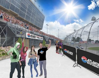 Atlanta Motor Speedway makes improvement