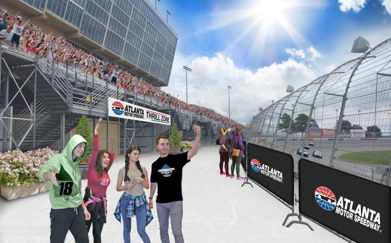 Atlanta Motor Speedway makes improvement