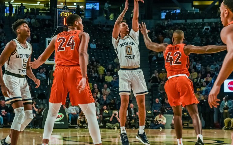 Georgia Tech loses bad a McCamish Arena to Syracuse