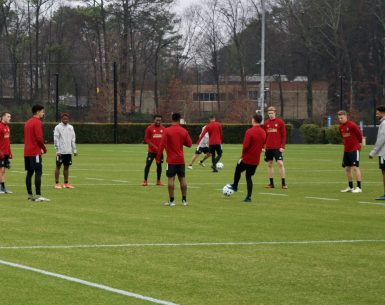 Atlanta United began its 2020 preseason Monday morning at its training facility in Marietta