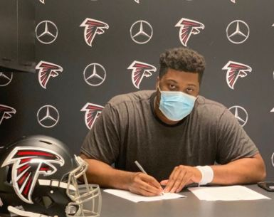 #Falcons, Ka'John Armstrong signs with the Atlanta Falcons