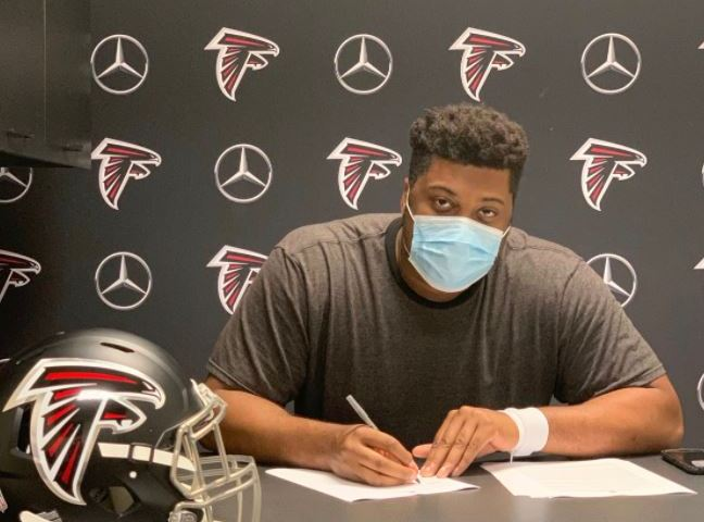 #Falcons, Ka'John Armstrong signs with the Atlanta Falcons