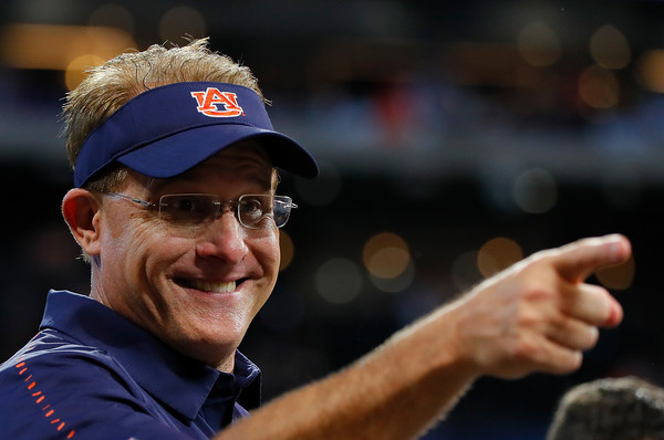 #wareagle, #auburntigers, Gus Malzahn head coach of Auburn Tigers