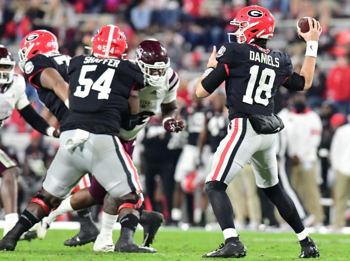 #Georgiabulldogs, #Dawgs, JT Daniels