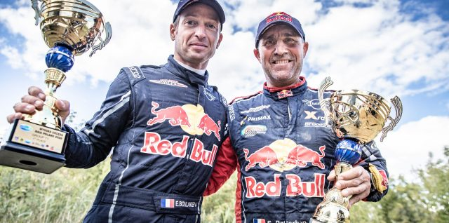 Rally legend Peterhansel back to winning ways at Baja Poland