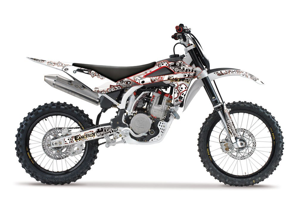 Husqvarna High Roller MX Graphics Kit (Grey) ⋆ Ringmaster