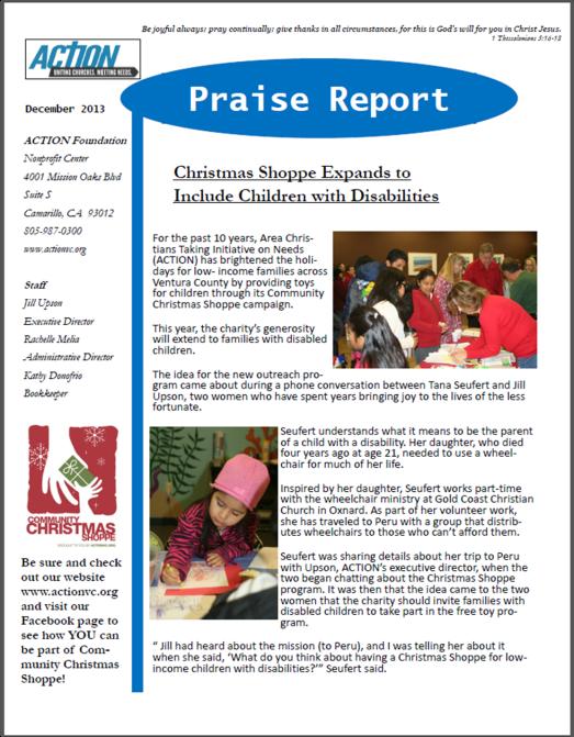 December Praise Report