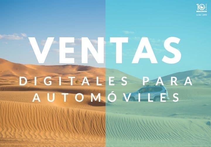 Ventas digitales para automóviles