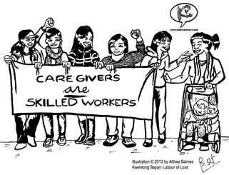 Kwentong Bayan: Labour of Love (Community- Based Comic