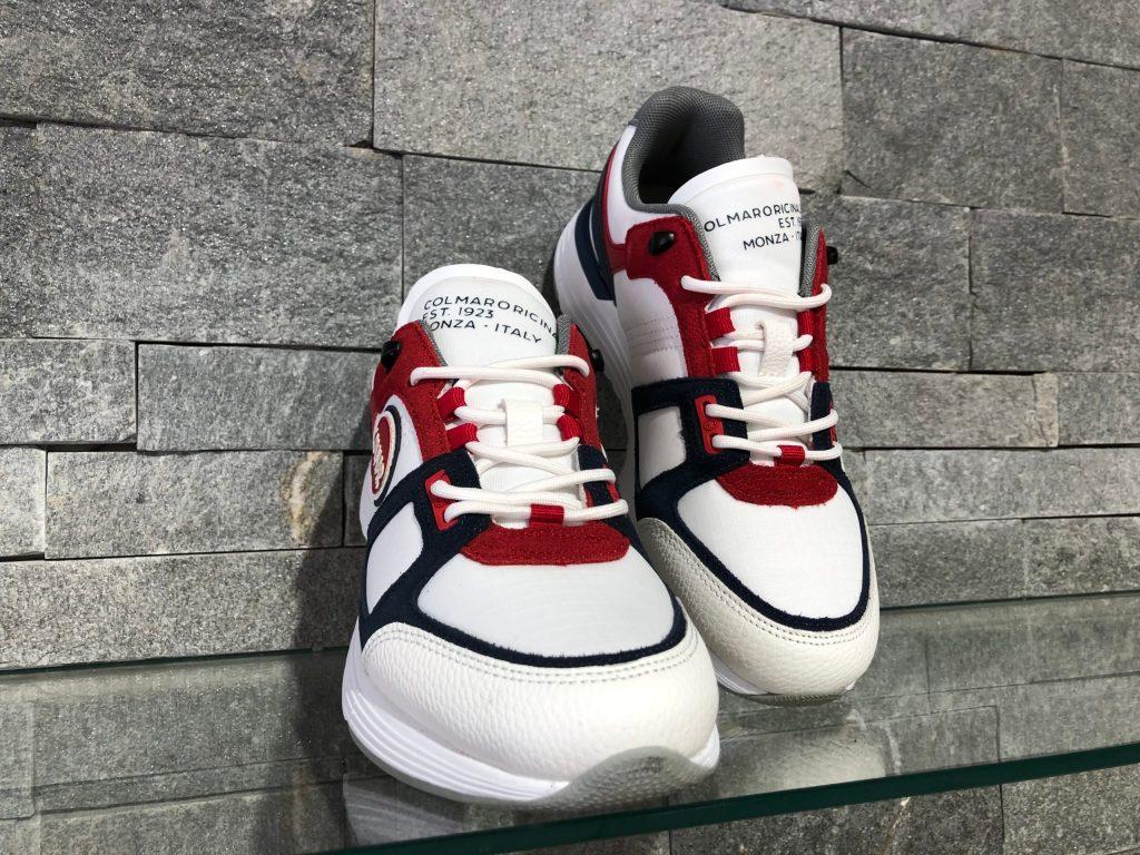 Pantofi Colmar Garner X-1 Sport Alb 050