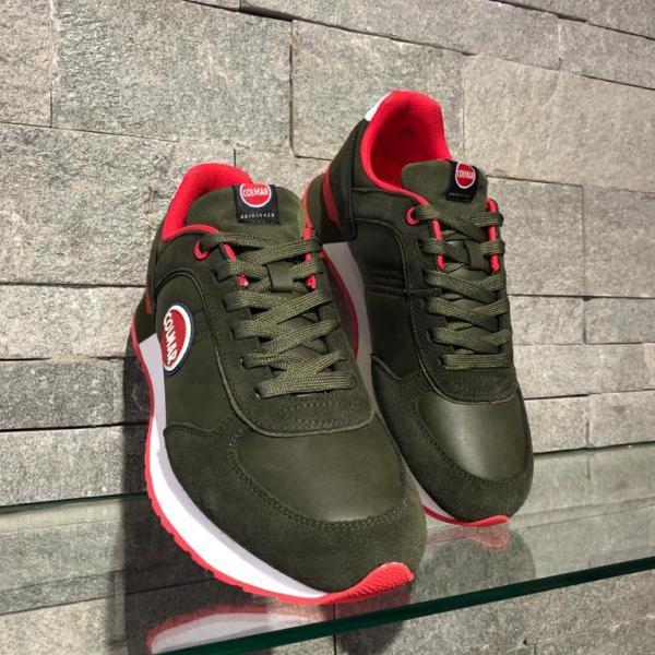 Pantofi Colmar Travis Colors Boost Verde 303
