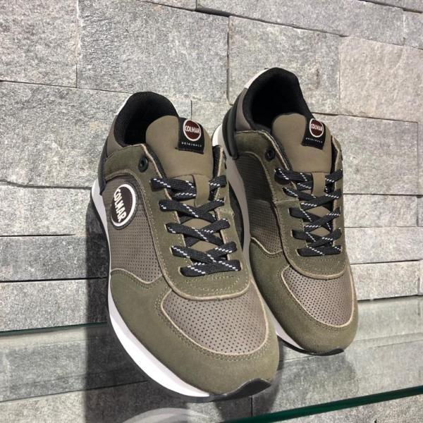 Pantofi Colmar Travis Drill Verde 015