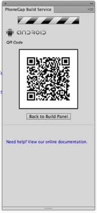 Descarga del archivo binario de la aplicación