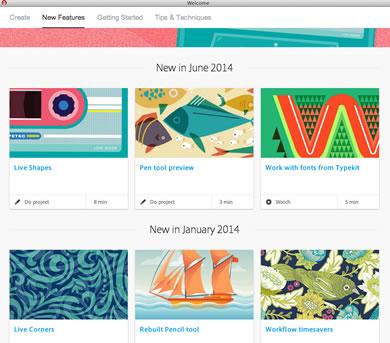 Nuevas Características Illustrator CC 2014 - Tutoriales