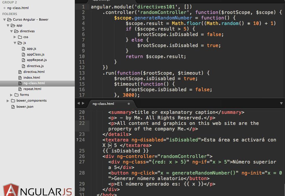 Configuración de Ambiente de Desarrollo para AngularJS